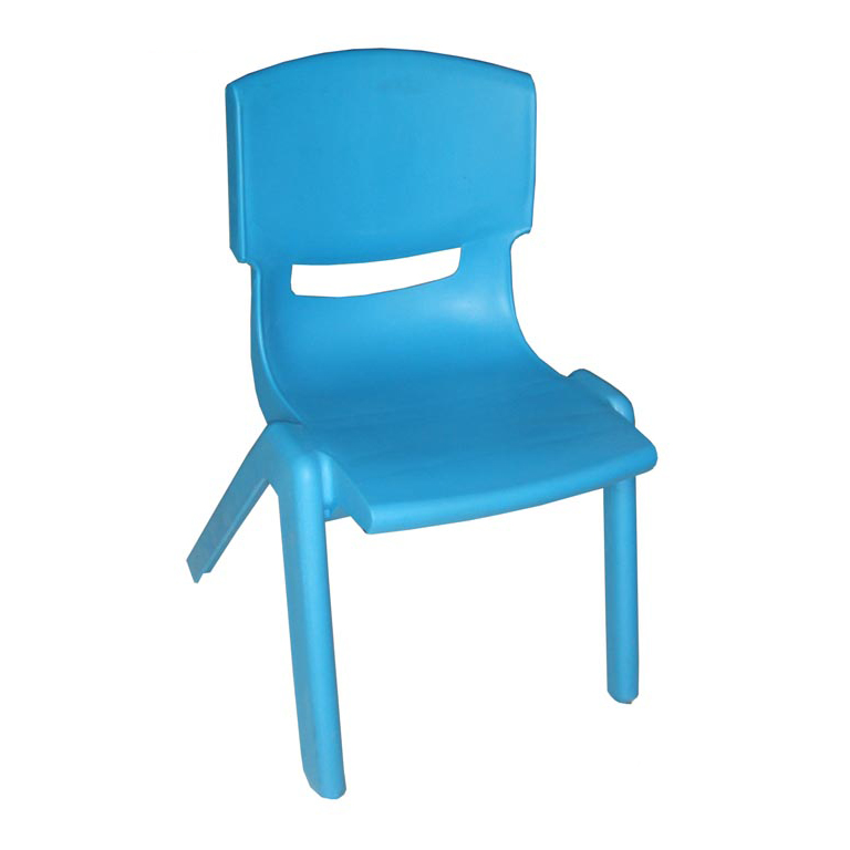 Elegant Plastic Children's Chair Multiple Color Customized Logo