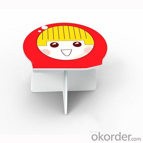 Children Study Table and Chair Sets in Russian Matryoshka Shape Cartoon