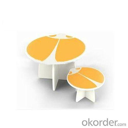 Children Table Kids Study Desk of Cartoon Insects Design