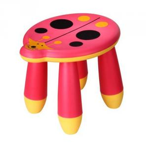 Kids' Plastic Stool for Preschool with Multiple Style Customized Color