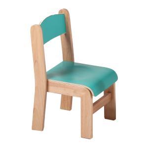Cute Children's Chair for Kingdergarten Solid Wood Beech Multiple Color