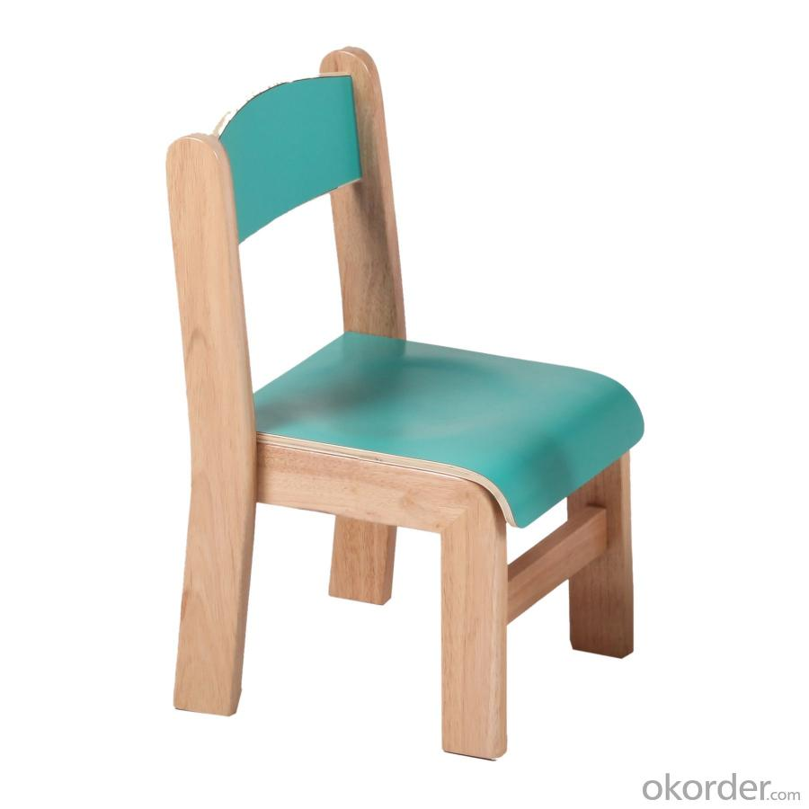 Cute Children's Chair for Kingdergarten Solid Wood Beech Multiple Color