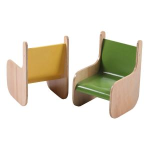 Wooden Frame Children's Chair for Kingdergarten Multilayer Customized Color