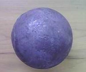 Rolled Steel Grinding Ball made in Chian with Good Quality Steel and Top Reputation