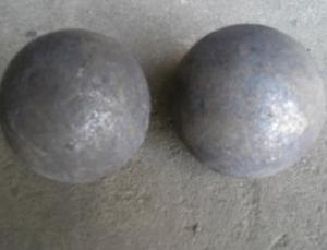 Forged Alloyed Steel Grinding Ball in Low Prease apply for Mineral Processing and Refractory Factory