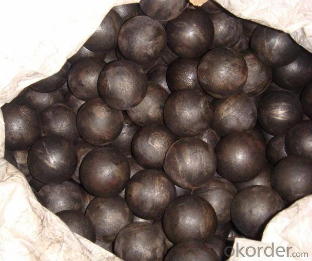 Grinding Ball for Gold Mine made in Chian with Top Quality Steel as Raw Material