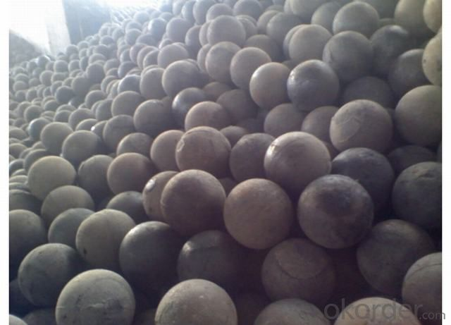 Forged Alloyed Steel Grinding Ball in Top Quality and Hardness apply for Mineral Processing and Refractory Factory
