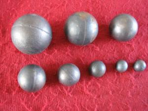 Middle Chromium Alloyed Grinding Ball with Best Quality Rwa Material for Refractory Factory and Cement Plant