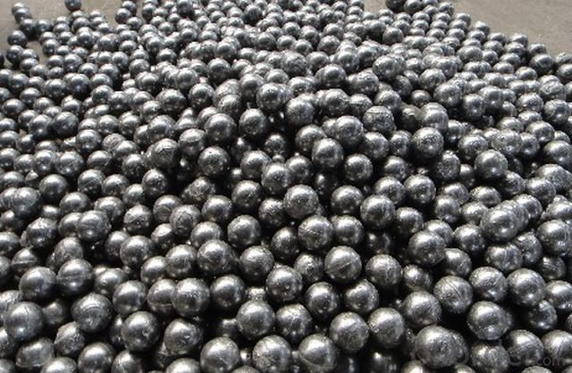 Rolling Forged Steel Grinding Ball with Supper Hardness apply for all kinds of Mineral Processing