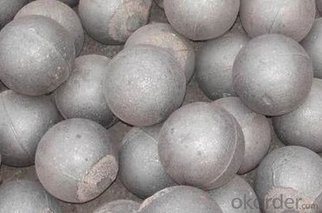 40mm to 110mm High Chromium Grinding Ball with High Hardness and Low Breakage Rate