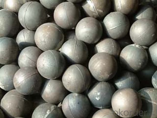 High Chromium Gringding Ball With High Hardness and Resistance, Top Quality For Cement and Mine