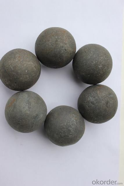 High Chromium Alloyed Grinding Ball with Best Quality Rwa Material for Mineral Processing