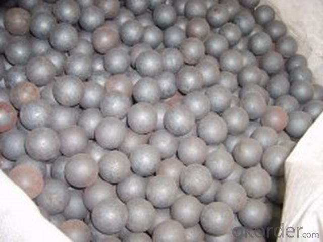 High Hardness Cast Iron Grinding Balls for Cement Plant and Mineral Processing