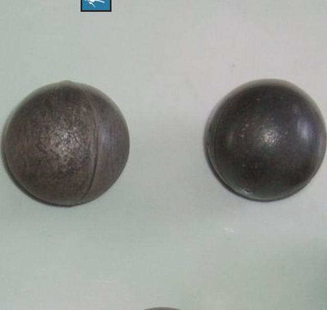 High&Low Chrome Alloyed Cast Grinding Balls(ISO9001:2008) in Top Quality and Good Hardness