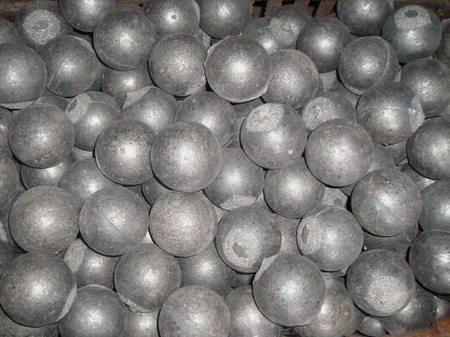 High Chome and Low Chrome Cast Grinding Balls in Low Price and Top Quality