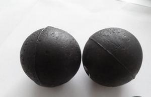 High Chrome Alloy Casting Grinding Ball Made in China with Top Hardness and Low Breakage Rate