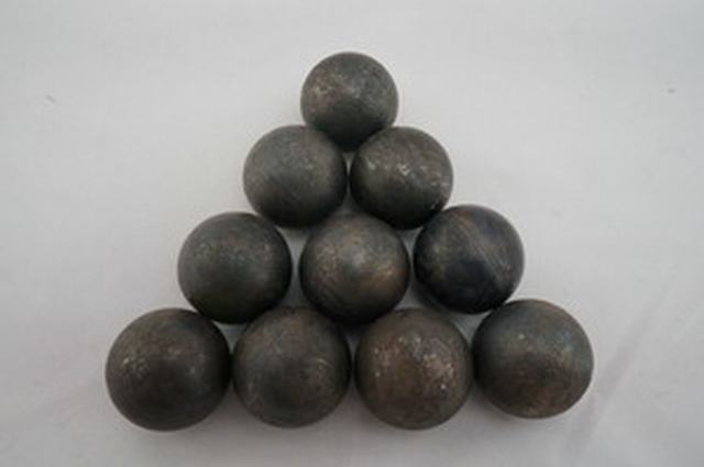 Heat-treated And Hot Rolled Forged Grinding Ball For Ball Mill DIA20MM-DIA150MM (ISO9001:2000)