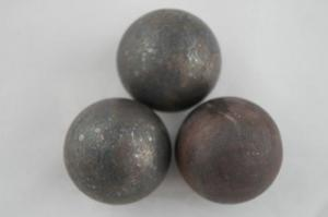 Good Wear Resistance And No Reakage Forged Grinding Ball