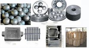 High Chrome Alloyed Cast Grinding Ball In Top Quality Made In China