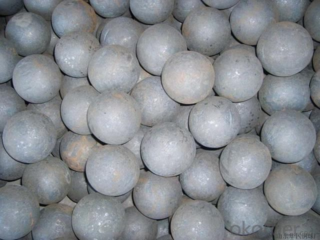 High Impact Toughness Steel Metal Forged Grinding Ball Made In China