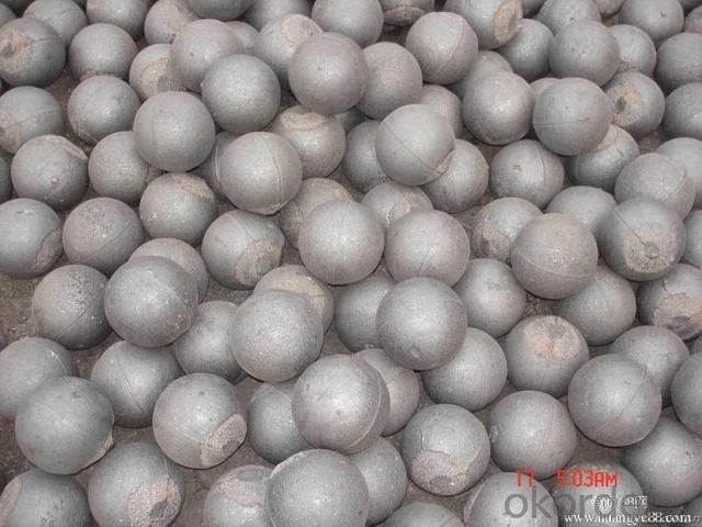 Forged Grinding Ball with Good Surface for Cement Plants