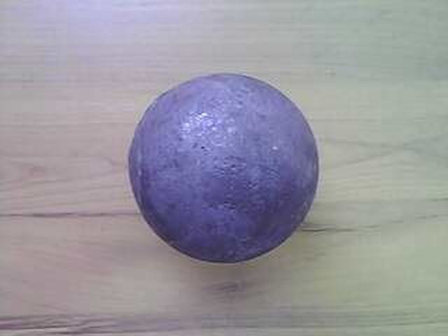 Superior SteelForgedGrindingBallFor Plant Cement and Mine