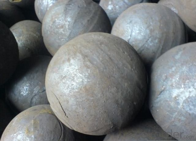 High Quality High Hardness Ningguo Cast Iron Grindingmedia Ball