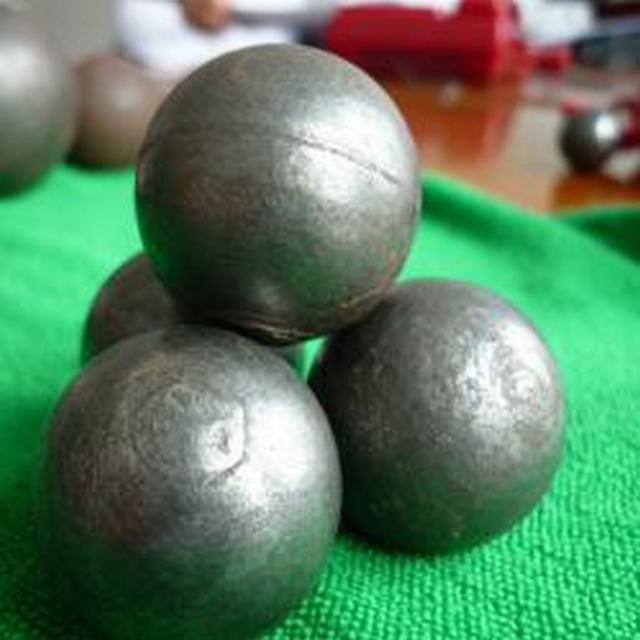 Dia 90mm High Hardness Cast IronGrindingMediaBallFor Cement