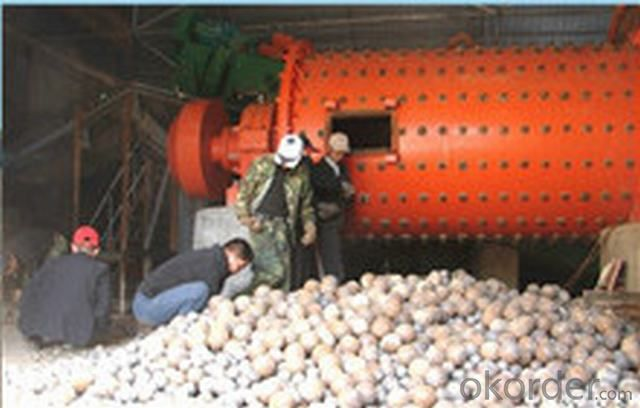 High Hardness Forged and Casting Grinding Mill Steel Ball For Ball Mill
