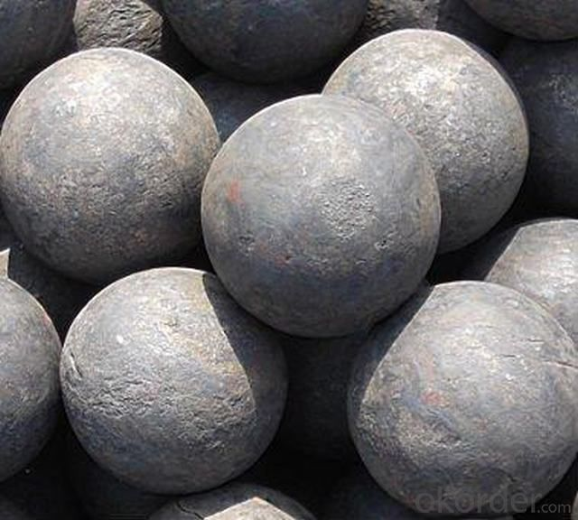 Top Rank High Carbon Forged Grinding Ball for Mining Millinggrinding Ball for Gold Mine for Cement Plant