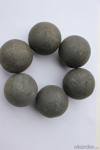 High Manganese and Carbon Forged Grinding Balls Mining