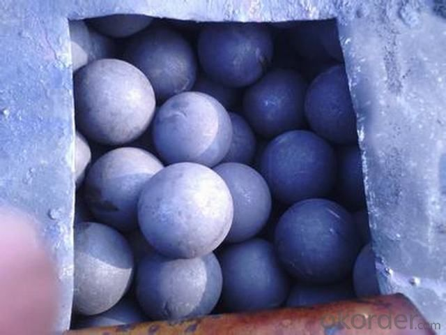 High Quality Forged Grinding Ball For Cement Plants From China