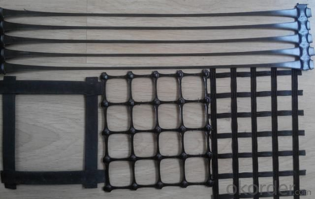 HDPE Uniaxial Geogrid with High Strength
