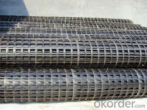 HDPE Uniaxial Geogrid for Road Construction