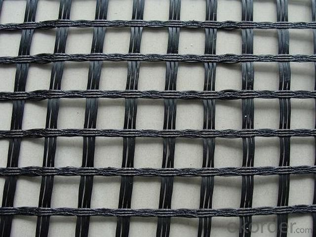 Bitumen Coated Fiberglass Geogrid with Certification