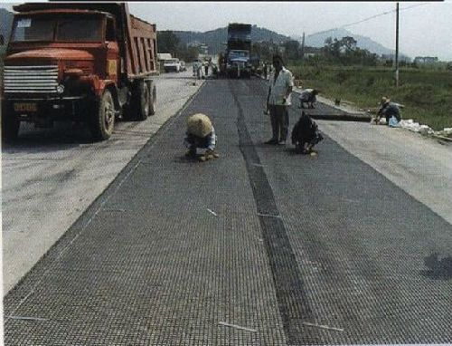 PVC Coated Polyester Geogrid for Civil Engineering and Road Contruction
