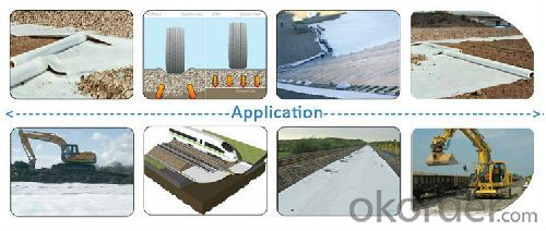 Short Fiber and Geomembrane Composite Waterproofing Membrane