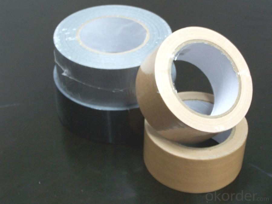 Shrinked And Black Color Double Sided Cloth Tape