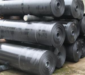 Smooth Side LLDPE Geomembrane for Wasterwater Treatment Lagoons