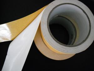 White Double Sided Cloth Tape For Uncomplicated Solutions