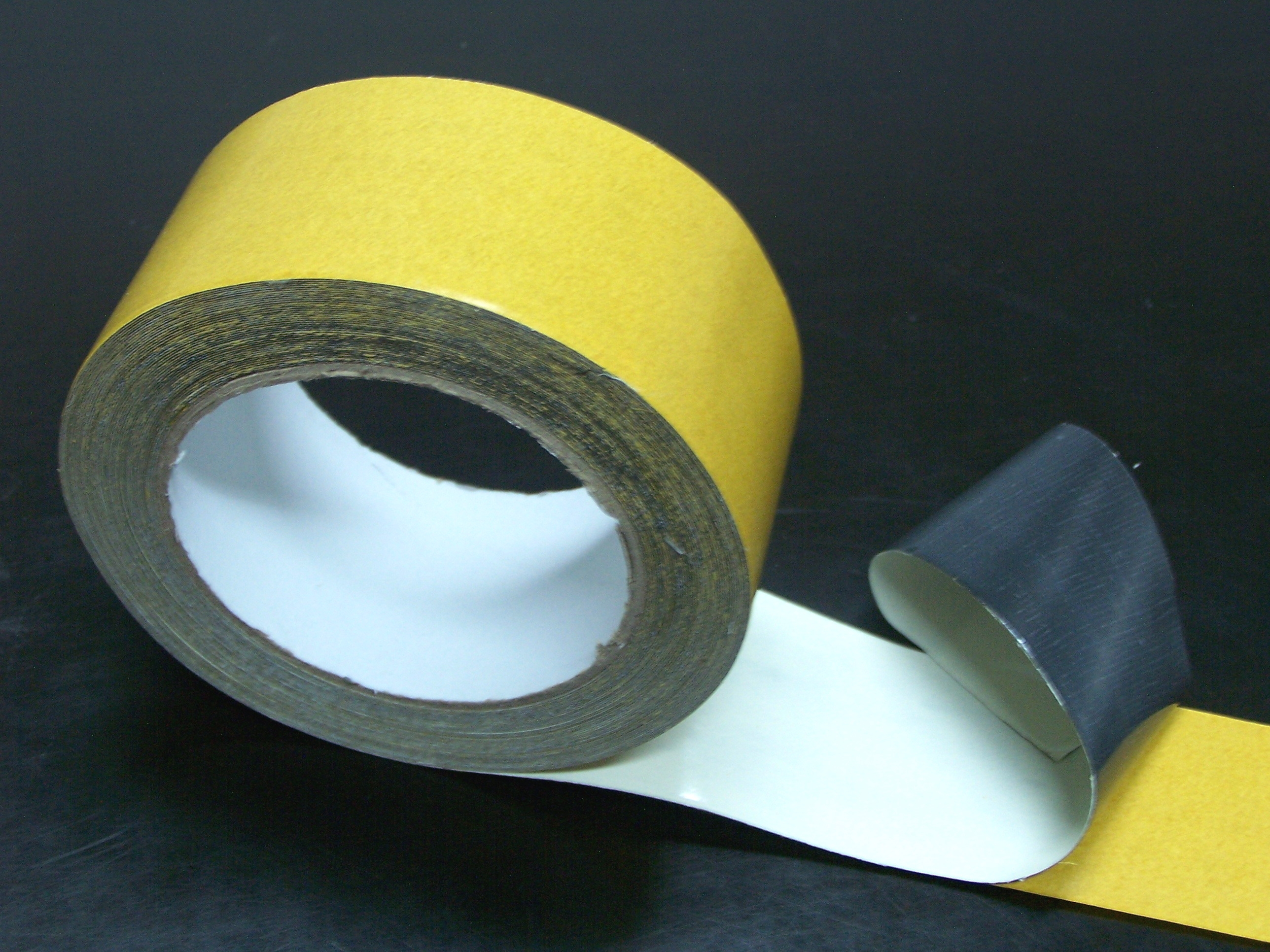 Double Sided Cloth Tape Jumbo Rolls With Simple Package