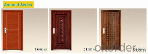 High Quality Single Steel Security Door