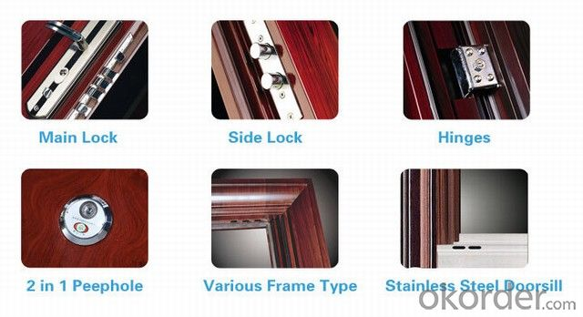 AFOL Steel Security Door Copper Doors Manufactory