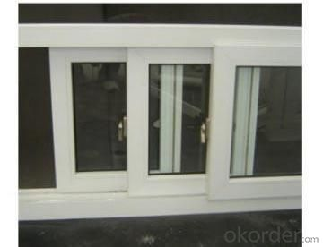 High Quality 74,120series etc PVC Sliding Window With ISO