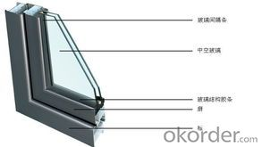 PVC Casement  Window with Best Design and Double glass