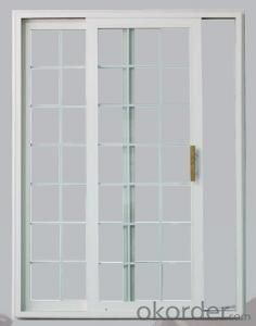PVC Window and Door with Double Glass and Soundproof