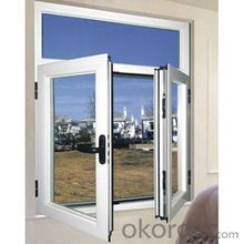 PVC Casement Window Factory with American and Europe Style