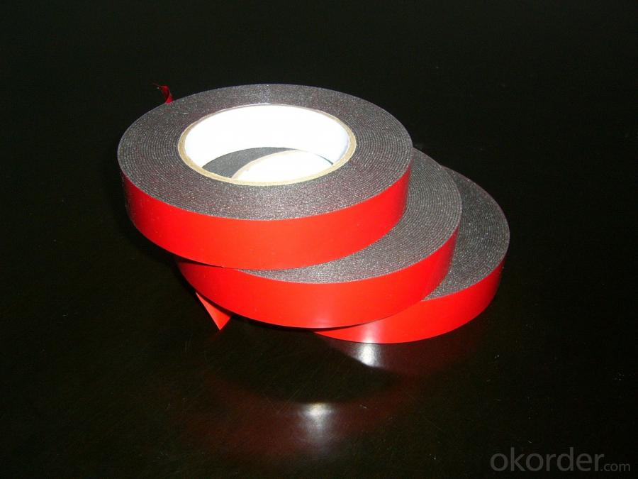 Cutted To Narrow Width Double Sided Foam Tape