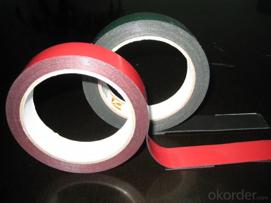 Decorative Double Sided Foam Tape Uesd In Industry