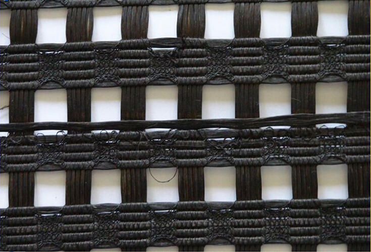 Bitumen Coated Fiberglass Geogrid with CE Certificate for Reinforce in Road Construction